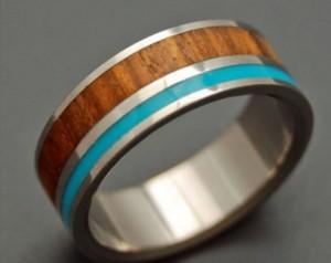 Optimized-wood men's ring