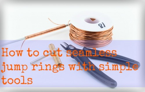 How to cut smooth jump rings with simple tools