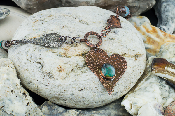 lampwork-cab-copper-heart-necklace2