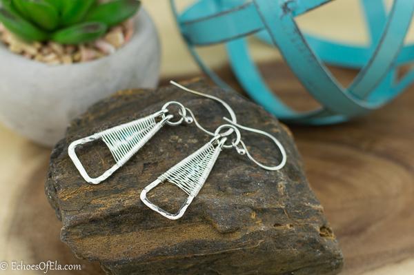 silver-weave-triangle-earring5