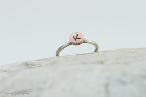 mixed-metal-initial-ring